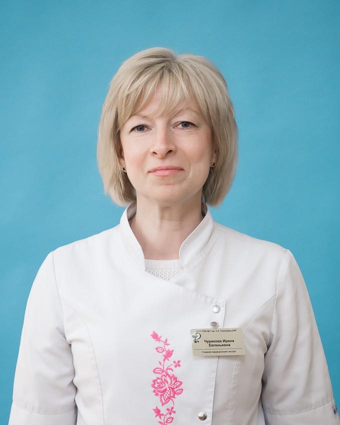 Чурикова Ирина Евгеньевна